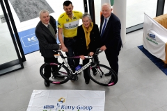 Tadhg Moriarty, Race Director.Richard Weaverley, Sliabh Luachra. Mary Concannon, Race Secretary. Mr Frank Hayes, Director Of Corporate Affairs, Kerry Group.